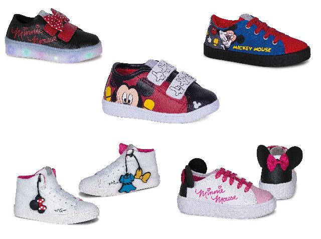 57c7c7ae3 Mickey & Minnie Mouse mania: Casal mais famoso da Disney inspira Diversão  Calçados